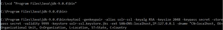 Solr SSL